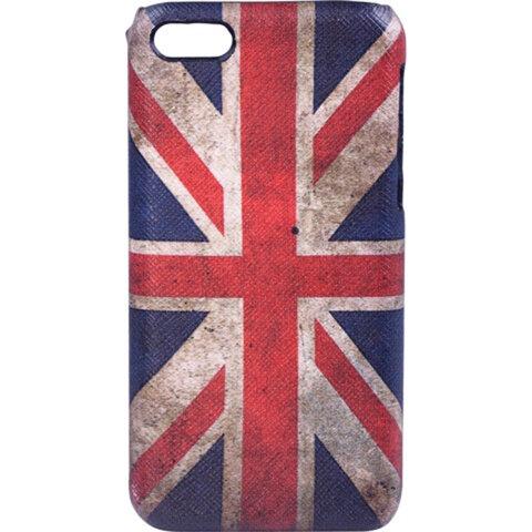 Защитная панель для iPhone 5/<wbr/>5S SONNEN, пластик, цветная печать, флаг