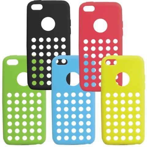 Защитная панель для iPhone 5С SONNEN, пластик, цвета ассорти