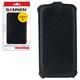 Чехол-обложка для телефона Samsung Galaxy S4 SONNEN, кожзаменитель, вертикальный, черный