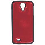 Защитная панель для Samsung Galaxy S4 SONNEN, пластик/<wbr/>кожзаменитель, красная