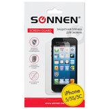 Защитная пленка для iPhone 5/<wbr/>5S/<wbr/>5С SONNEN, прозрачная