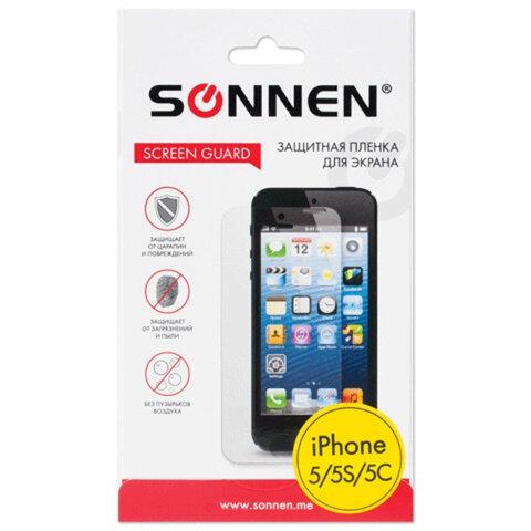 Защитная пленка для iPhone 5/<wbr/>5S/<wbr/>5С SONNEN, матовая