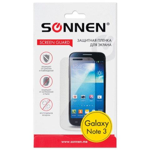 Защитная пленка для Samsung N9000/<wbr/>Galaxy Note 3 SONNEN, матовая