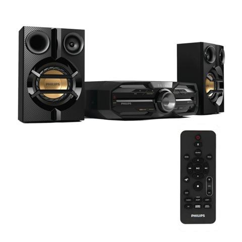 Музыкальный центр PHILIPS FXD15/<wbr/>12, MP3-CD, выходная мощность 180 Вт, USB, Bluetooth, NFC, черный