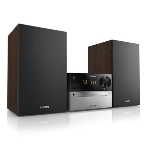Музыкальный центр PHILIPS BTD2339/<wbr/>51, MP3-CD, CD, CD-R(RW), DVD, FM-тюнер, Bluetooth, 20 Вт