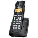 Радиотелефон GIGASET A220 RUS, память на 80 номеров, повтор номера, тональный/<wbr/>импульсный набор, чёрный