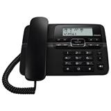 Телефон PHILIPS CRD200B/<wbr/>51, повторный набор, часы, календарь, черный