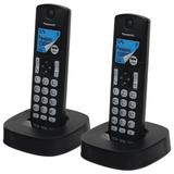Радиотелефон PANASONIC KX-TGC322RU + доп. трубка, память 50 номеров, АОН, автоответчик, черный