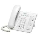 Телефон IP PANASONIC KX-NT551RU, повторный набор, часы/<wbr/>календарь, спикерфон, цвет белый