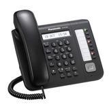 Телефон IP PANASONIC KX-NT551RU-B, повторный набор, часы/<wbr/>календарь, спикерфон, цвет черный