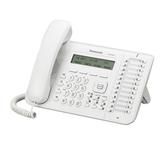 Телефон IP PANASONIC KX-NT543RU, повторный набор, часы/<wbr/>календарь, спикерфон, цвет белый