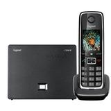 Радиотелефон IP GIGASET С530А IP, память на 200 номеров, SIP DECT, АОН, спикерфон, цвет черный