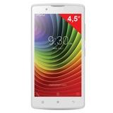 "Смартфон LENOVO A2010, 4,5"", 2 SIM, 3G, 2/<wbr/>5 Мп, 8 Гб, microSD, белый, пластик"