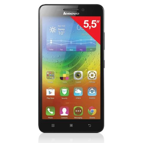"Смартфон LENOVO A7000, 5"", 2 SIM, 3G, 5/<wbr/>8 Мп, 8 Гб, microSD, черный, пластик"