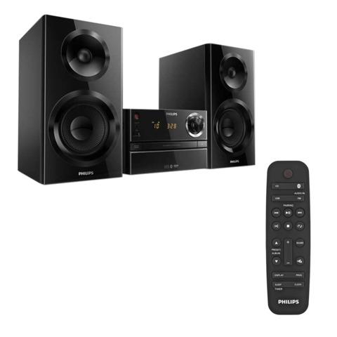Музыкальный центр PHILIPS BTM2360, CD, CD-R/<wbr/>RW, MP3-CD, выходная мощность 70 Вт, USB, Bluetooth, AUX, FM, черный