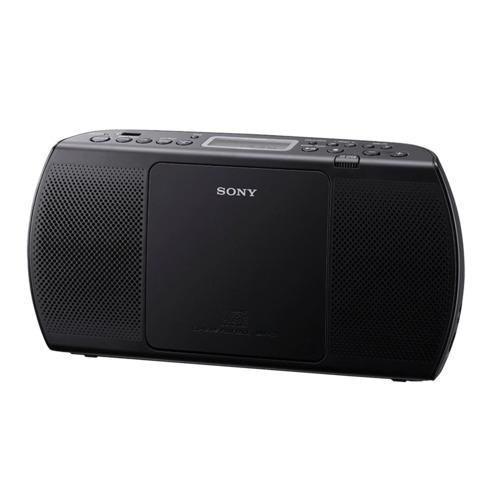 Магнитола SONY ZS-PE40CPB, CD, MP3, WMA, USB, AM/<wbr/>FM-тюнер, выходная мощность 2 Вт, черный