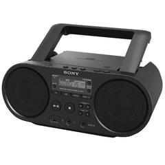 Магнитола SONY ZS-PS50B, CD, MP3, WMA, USB, AM/<wbr/>FM-тюнер, выходная мощность 4 Вт, черный
