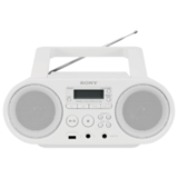 ��������� SONY ZS-PS50W, CD, MP3, WMA, CD-R/<wbr/>RW, USB, AM/<wbr/>FM-�����, �������� �������� 4 ��, �����