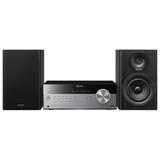Музыкальный центр SONY CMT-SBT100, CD, MP3, AAC, WMA, USB, AM/<wbr/>FM-тюнер, выходная мощность 50 Вт, черный