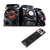 Музыкальный центр LG CM4350, CD, MP3, WMA, USB, AM/<wbr/>FM-тюнер, выходная мощность 260 Вт, Bluetooth, черный
