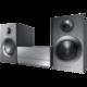 Музыкальный центр SAMSUNG MM-J430D, MP3, DVD, AVI, DivX, AM/<wbr/>FM-тюнер, выходная мощность 120 Вт, Bluetooth, серебряный