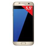 "Смартфон SAMSUNG Galaxy S7 edge, 2 SIM, 5,5"", 4G (LTE), 5/<wbr/>12 Мп, 32 Гб, microSD, платина, металл и стекло"