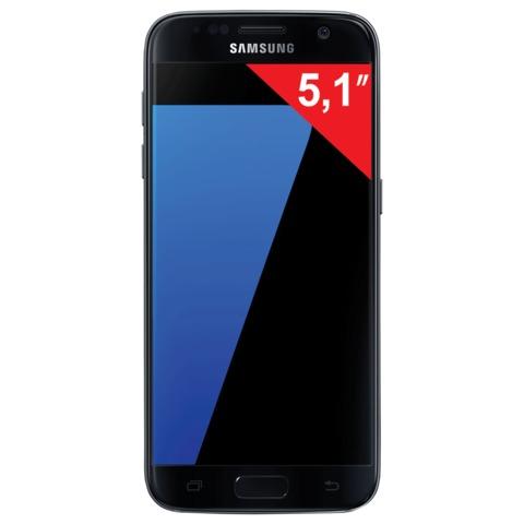 "Смартфон SAMSUNG Galaxy S7, 2 SIM, 5,1"", 4G (LTE), 5/<wbr/>12 Мп, 32 Гб, microSD, черный, металл и 3D-стекло"
