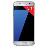 "Смартфон SAMSUNG Galaxy S7, 2 SIM, 5,1"", 4G (LTE), 5/<wbr/>12 Мп, 32 Гб, microSD, титан, металл и 3D-стекло"