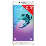 "Смартфон SAMSUNG Galaxy A7, 2 SIM, 5,5"", 4G (LTE), 5/<wbr/>13 Мп, 16 Гб, microSD, белый, металл и стекло"