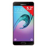 "Смартфон SAMSUNG Galaxy A5, 2 SIM, 5,2"", 4G (LTE), 5/<wbr/>13 Мп, 16 Гб, microSD, розовое золото, сталь и стекло"