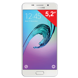 "Смартфон SAMSUNG Galaxy A5, 2 SIM, 5,2"", 4G (LTE), 5/<wbr/>13 Мп, 16 Гб, microSD, белый, сталь и стекло"