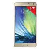 "Смартфон SAMSUNG Galaxy A3, 2 SIM, 4,7"", 4G (LTE), 5/<wbr/>8 Мп, 16 Гб, microSD, золотой, сталь и стекло"