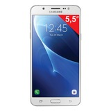 "Смартфон SAMSUNG Galaxy J7, 2 SIM, 5,5"", 4G (LTE), 5/<wbr/>13 Мп, 16 Гб, microSD, белый, пластик"