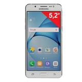 "Смартфон SAMSUNG Galaxy J5, 2 SIM, 5,2"", 4G (LTE), 5/<wbr/>13 Мп, 16 Гб, microSD, белый, пластик"