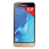 "Смартфон SAMSUNG Galaxy J3, 2 SIM, 5,0"", 4G (LTE), 5/<wbr/>13 Мп, 8 Гб, microSD, золотой, пластик"