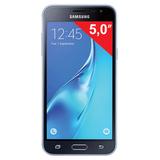 """�������� SAMSUNG Galaxy J3, 2 SIM, 5,0"""", 4G (LTE), 5/<wbr/>13 ��, 8 ��, microSD, ������, �������"""