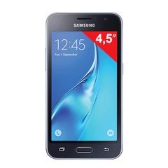 "Смартфон SAMSUNG Galaxy J1, 2 SIM, 4,5"", 4G (LTE), 2/<wbr/>5 Мп, 8 Гб, microSD, черный, пластик"
