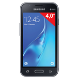 "�������� SAMSUNG Galaxy J1 mini, 2 SIM, 4,0"", 3G, 0,3/<wbr/>5 ��, 8 ��, microSD, ������, �������"
