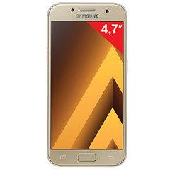 "Смартфон SAMSUNG Galaxy A3, 2 SIM, 4,7"", 4G (LTE), 8/<wbr/>13 Мп, 16 ГБ, microSD, золотой, сталь и стекло"