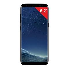 "Смартфон SAMSUNG Galaxy S8+, 2 SIM, 6,2"", 4G (LTE), 8/<wbr/>12 Мп, 64 ГБ, microSD, «черный бриллиант», металл/<wbr/>стекло"