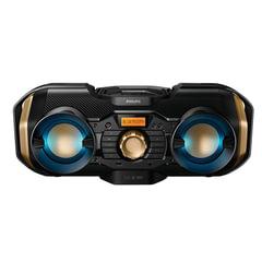 Магнитола PHILIPS PX840T/<wbr/>12, MP3-CD, CD-R/<wbr/>RW, USB, mini jack 3,5 мм, FM-тюнер, выходная мощность 50 Вт, черная