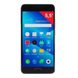 "Смартфон MEIZU M5 NOTE M621H, 2 SIM, 5,5"", 4G, 5/<wbr/>13 Мп, 16 Гб, MicroSD, серый, металл"