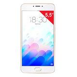 "Смартфон MEIZU M5 NOTE M621H, 2 SIM, 5,5"", 4G, 5/<wbr/>13 Мп, 16 Гб, MicroSD, золотой, металл"