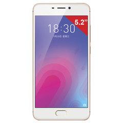 "Смартфон MEIZU M6 M711H, 2 SIM, 5,2"", 4G, 8/<wbr/>13 Мп, 16 ГБ, MicroSD, золотой, пластик"