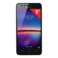 "Смартфон HUAWEI Y3 2017, 2 SIM, 5"", 3G, 2/<wbr/>5 Мп, 8 ГБ, MicroSD, серый, пластик"