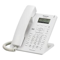 Телефон SIP PANASONIC KX-HDV100RU, 1 SIP-линия, 1 х RJ45, белый, с блоком питания
