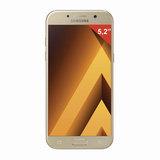 "Смартфон SAMSUNG Galaxy A5, 2 SIM, 5,2"", 4G (LTE), 16/<wbr/>16 Мп, 32 ГБ, microSD, золотой, сталь и стекло"