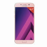 "Смартфон SAMSUNG Galaxy A5, 2 SIM, 5,2"", 4G (LTE), 16/<wbr/>16 Мп, 32 ГБ, microSD, розовый, сталь и стекло"
