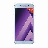 "Смартфон SAMSUNG Galaxy A5, 2 SIM, 5,2"", 4G (LTE), 16/<wbr/>16 Мп, 32 ГБ, microSD, голубой, сталь и стекло"