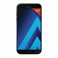 "Смартфон SAMSUNG Galaxy A7, 2 SIM, 5,7"", 4G (LTE), 16/<wbr/>16 Мп, 32 ГБ, microSD, черный, сталь и стекло"